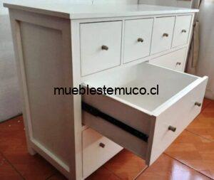 mueble comoda blanca