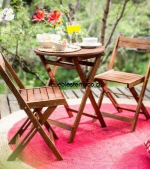 sillas terraza