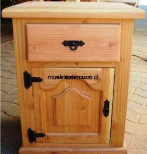 velador de madera