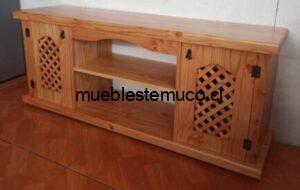 Rack de madera en Temuco