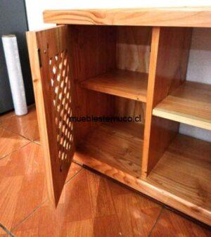 rack de madera pino oregon